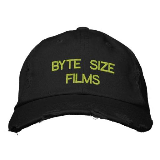 BYTE SIZE FILMS BASEBALL CAP