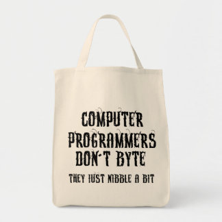 Byting Programmers Canvas Bags