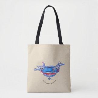 Byzantine Birdbath Tote Bag