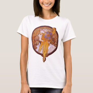Byzantine Blonde by Mucha T-Shirt