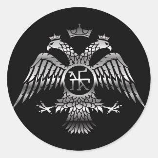Byzantine Classic Round Sticker