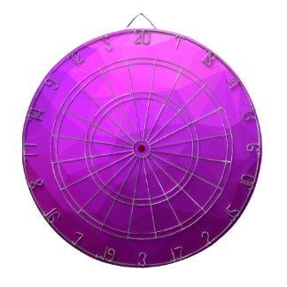 Byzantine Purple Abstract Low Polygon Background Dartboard