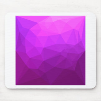 Byzantine Purple Abstract Low Polygon Background Mouse Pad