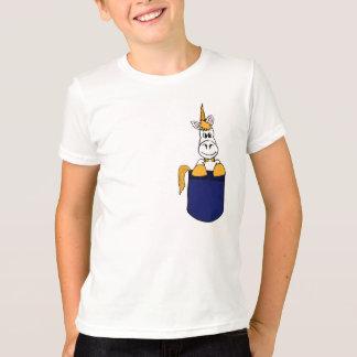 BZ- Unicorn in a Pocket Shirt
