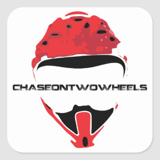 C2W Logo [Black Text] Square Sticker