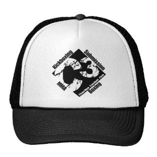 C3 Black Logo Trucker Hat