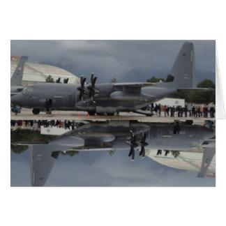 C-130 at Hill Air Force Base 2012 card