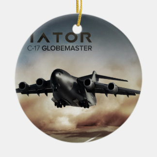 C-17 Globemaster Cargo Airplane Ceramic Ornament
