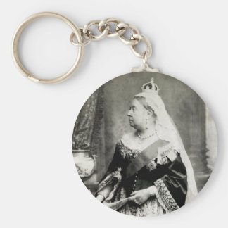 C. 1880 Queen Victoria of England Key Ring