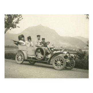 c 1907 touring car or phaeton postcard