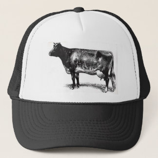 C-2 Cattle design add your farm name Trucker Hat