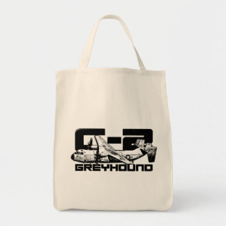 C-2 Greyhound Grocery Tote Grocery Tote Bag