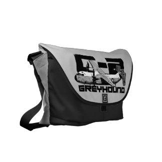 C-2 Greyhound Outside Print Bag Commuter Bag