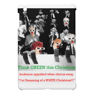 C Audience appalled when chorus sang I'm dreaming iPad Mini Cover