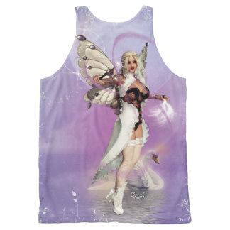 C.C. CeeCee ~Lover Of Swans~ All-Over Print Singlet