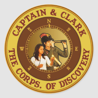 C&C Corps. Round Sticker