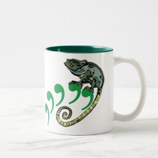 C. Chameleon $17.95 Two-Tone Coffee Mug