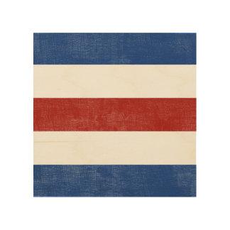 C Charlie Nautical Alphabet Signal Flag Wood Print