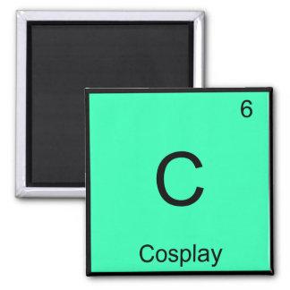 C - Cosplay Chemistry Element Symbol Costume Tee Magnet
