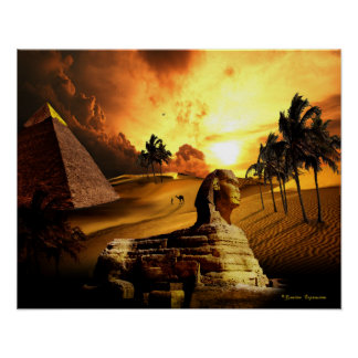 C.E. Ancient Egypt Fantasy Poster