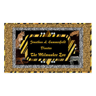 C.E. Animal Skins Business Card 2
