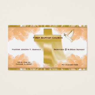 C.E. Church 1 Business Card