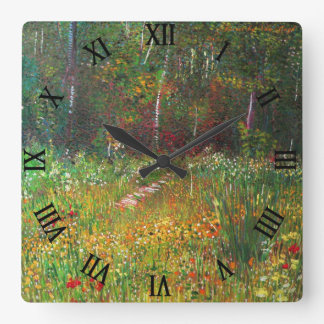 C.E. Forest by Van Gogh Wall Clock