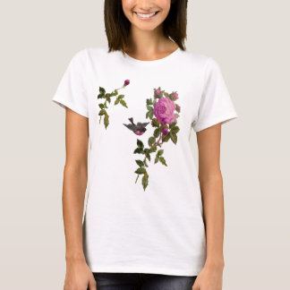 C.E. Rose w/Bird 2 T-Shirt