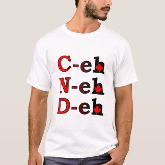 C-eh N-eh D-eh Canada Shirt Canadian Pride