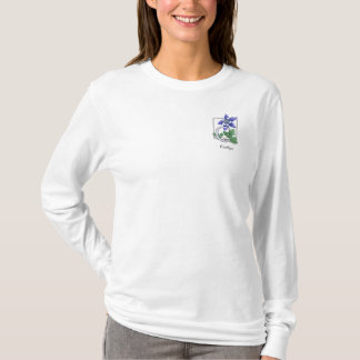 C for Columbine Flower Monogram Shirt