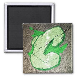 C - Graffiti letter magnet