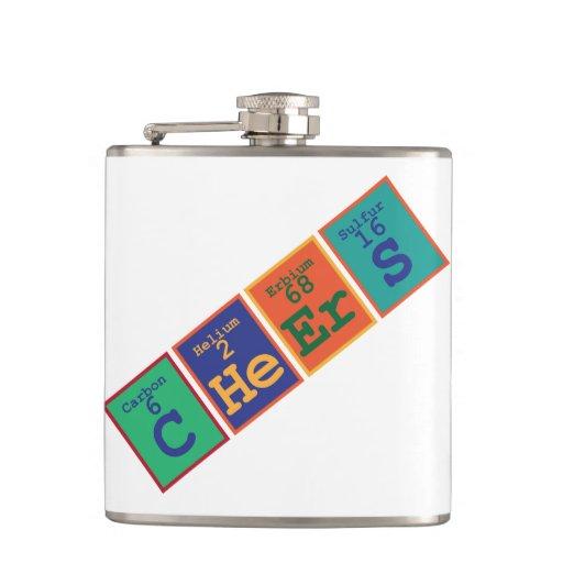 'C He Er S' Flasks