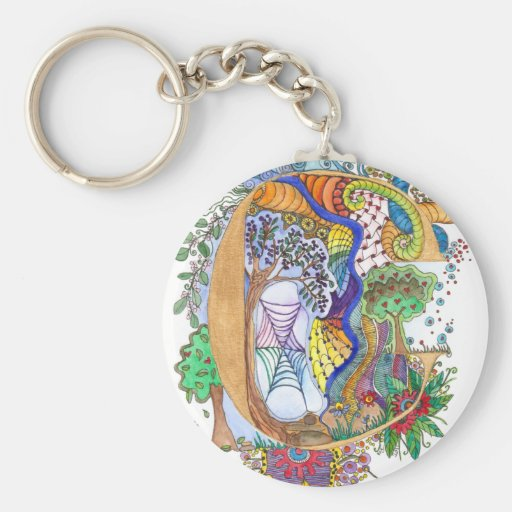 C, initial, monogram, wedding keychains