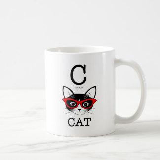 C is for Cat beautiful Mug