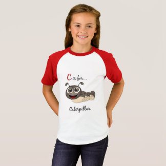 C Is For Caterpillar T-Shirt