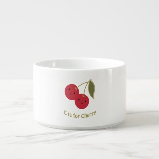 C is for Cherry Chili Bowl