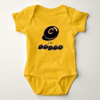 C is for CHLOE monogram Baby Bodysuit