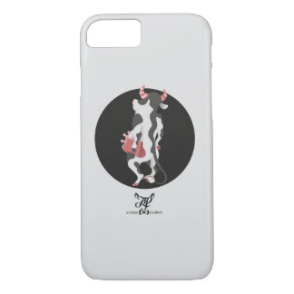 C is for Cow with a Clutch iPhone 7 Case