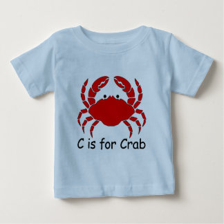 C is for Crab Tshirt
