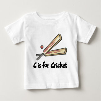 C is for Cricket Tee Shirt