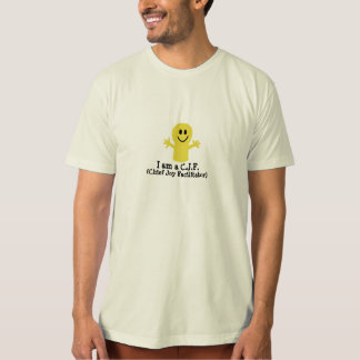 C.J.F. (Chief Joy Facilitator) Organic T-shirt