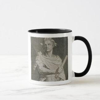 C. Julius Caesar (100-44 BC) Emperor of Rome engra Mug