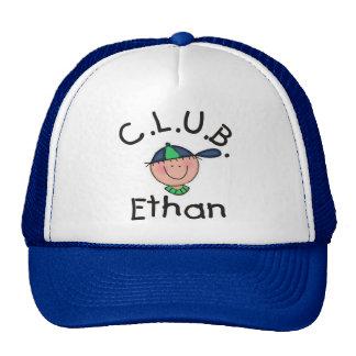 C.L.U.B. Ethan Blue an White Hat
