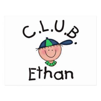 C.L.U.B. Ethan Post Card