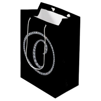 C Monogram bling gift bag