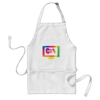 C:\ Nerds and Geeks Rejoice ! Standard Apron
