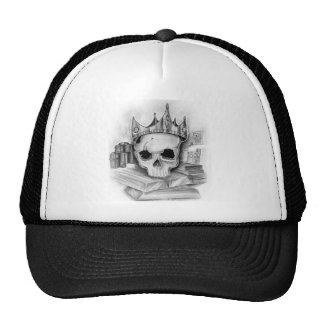 C/ouro cap skull of Truck driver