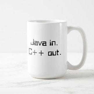 C++ Programmer's coffee mug
