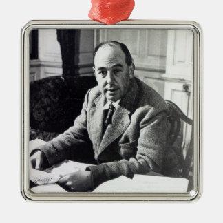 C.S. Lewis Metal Ornament