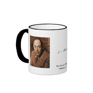 C.S. Lewis: no feelings are high or low Ringer Mug